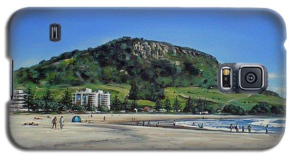 Mount Maunganui Beach 151209 Galaxy S5 Case
