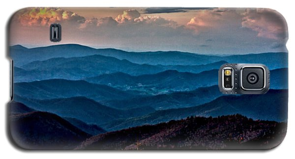 Galaxy S5 Case featuring the photograph Mount Mitchell Sunset by John Haldane
