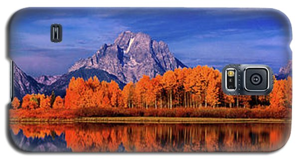 Mount Moran And Fall Color Grand Tetons Galaxy S5 Case