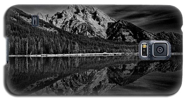 Mount Moran In Black And White Galaxy S5 Case