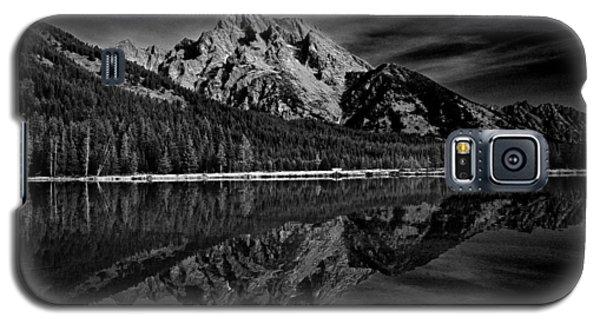 Mount Moran In Black And White Galaxy S5 Case by Raymond Salani III