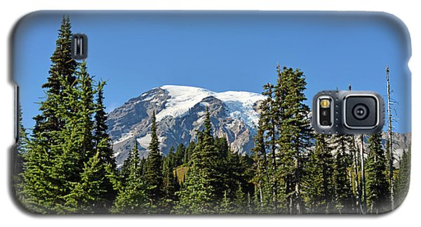 Mount Rainier Evergreens Galaxy S5 Case