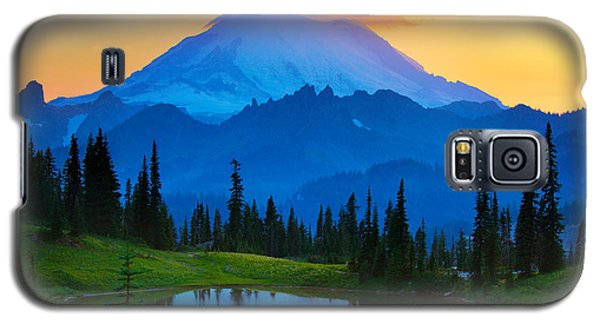 Mount Rainier Goodnight Galaxy S5 Case by Inge Johnsson