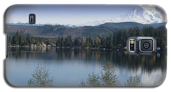 Mount Rainier In The Fall Galaxy S5 Case