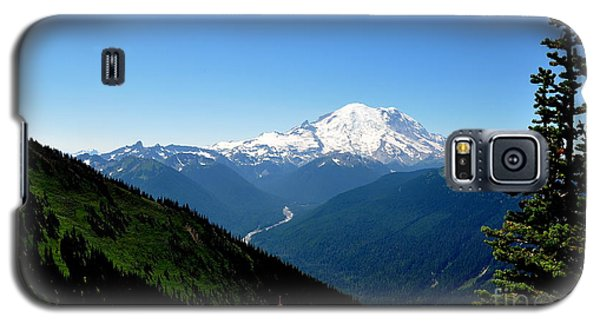 Galaxy S5 Case featuring the photograph Mount Rainier Seen From Crystal Mountain Summit  4 by Tanya  Searcy