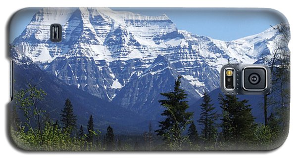 Mount Robson - Canada Galaxy S5 Case by Phil Banks