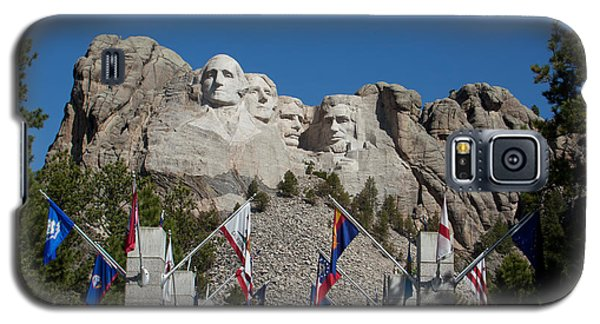 Mount Rushmore Avenue Of Flags Galaxy S5 Case