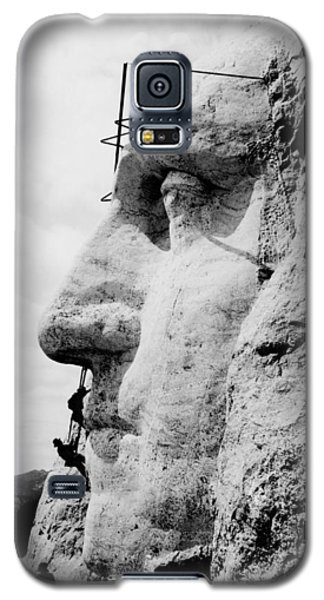 Mount Rushmore Construction Photo Galaxy S5 Case