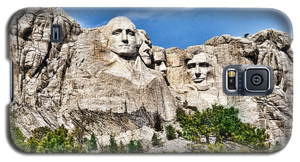 Mount Rushmore Galaxy S5 Case by Don Durfee