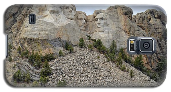 Galaxy S5 Case featuring the photograph Mount Rushmore In South Dakota by Clarice  Lakota