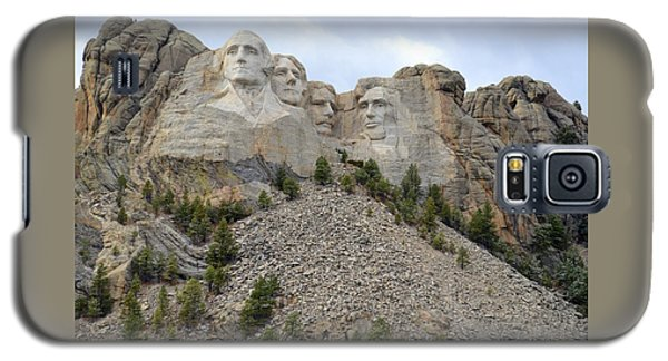 Mount Rushmore In South Dakota Galaxy S5 Case by Clarice  Lakota