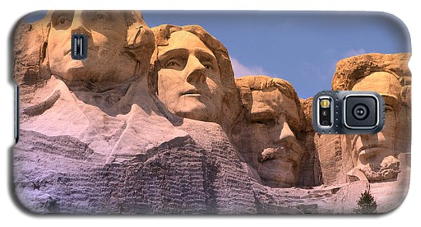 Mount Rushmore Galaxy S5 Case by Olivier Le Queinec