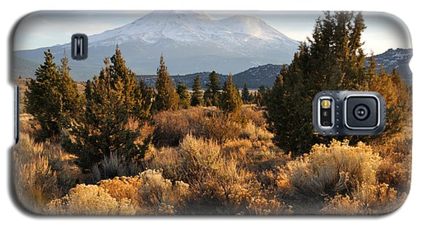 Mount Shasta In The Fall  Galaxy S5 Case