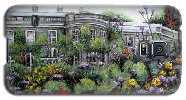 Galaxy S5 Case featuring the painting Mount Stewart House In Ireland by Melinda Saminski