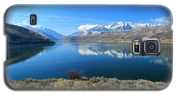 Mount Timpanogos From Deer Creek Galaxy S5 Case by Johnny Adolphson
