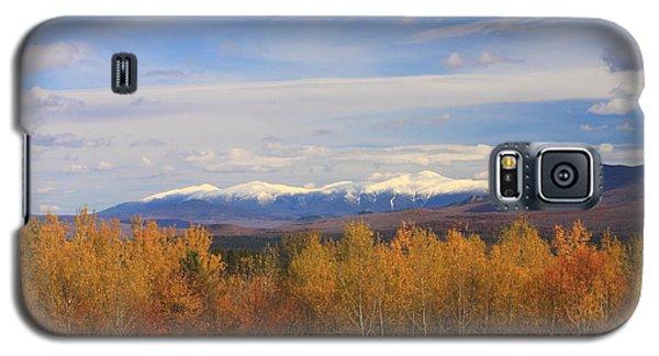 Mount Washington And Presidential Range Snow Foliage Galaxy S5 Case