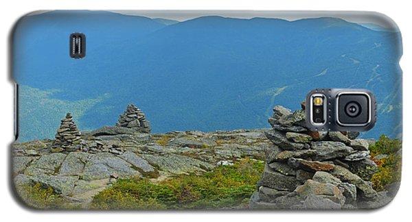 Mount Washington Rock Cairns Galaxy S5 Case