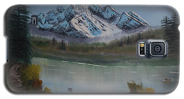 Mountain And River Galaxy S5 Case by Ian Donley