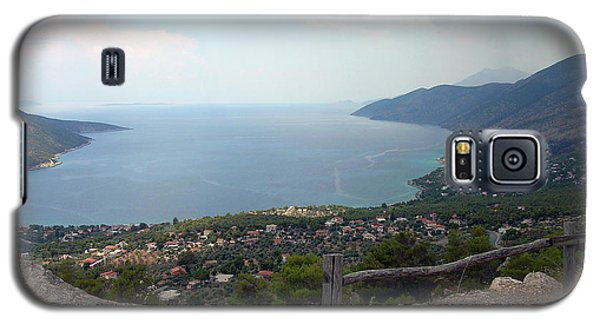 Mountain And Sea View In Greece Galaxy S5 Case