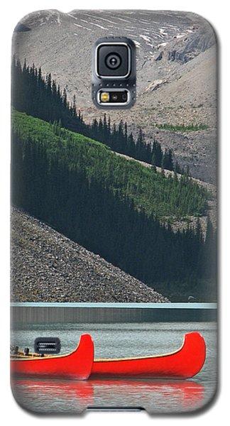 Mountain Canoes Galaxy S5 Case by Marcia Socolik