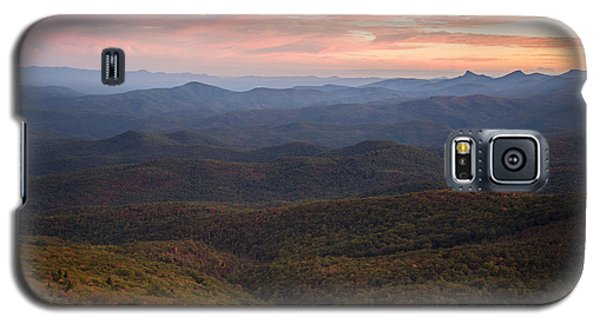 Mountain Color Galaxy S5 Case by Serge Skiba