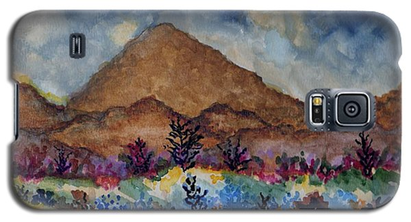Mountain Desert Scene Galaxy S5 Case