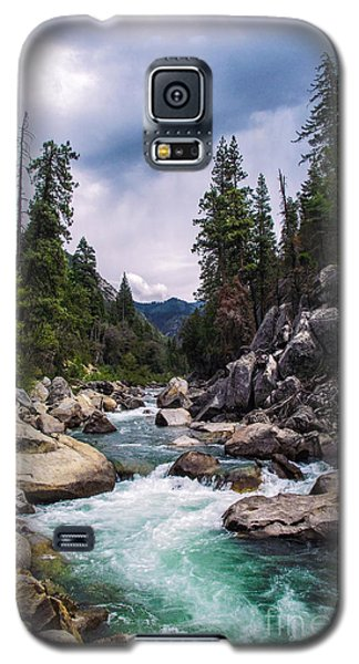 Mountain Emerald River Photography Print Galaxy S5 Case