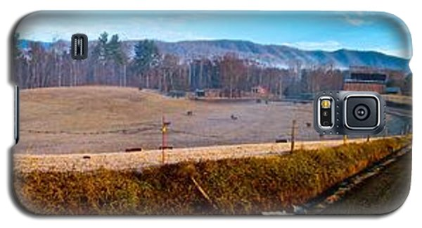 Mountain Farm Panorama Version 2 Galaxy S5 Case by Tom Culver