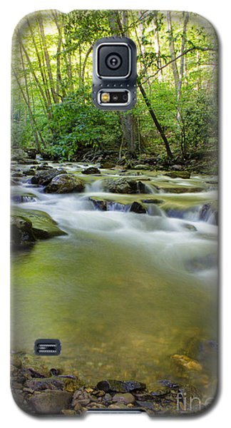 Mountain Flow Galaxy S5 Case by Laurinda Bowling
