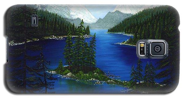 Mountain Lake Canada Galaxy S5 Case