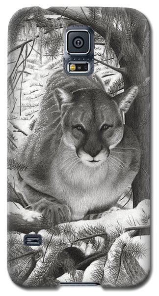 Mountain Lion Hideout Galaxy S5 Case