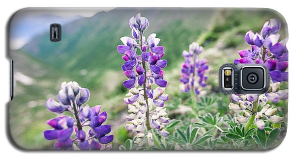 Mountain Lupine Galaxy S5 Case