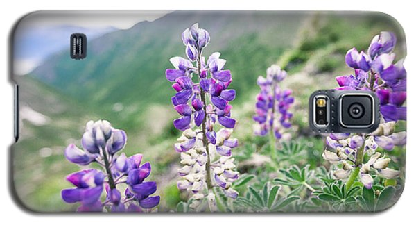 Mountain Lupine Galaxy S5 Case