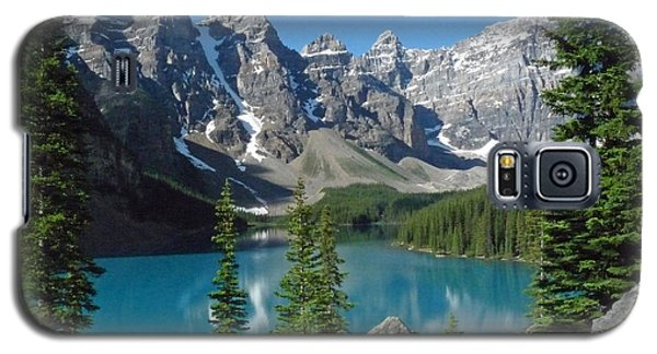 Galaxy S5 Case featuring the photograph Mountain Magic by Alan Socolik
