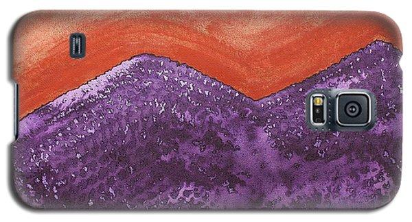 Mountain Majesty Original Painting Galaxy S5 Case