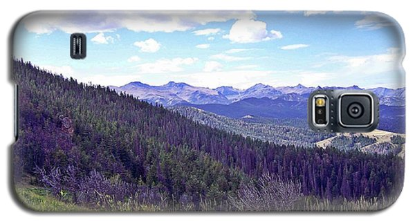 Galaxy S5 Case featuring the photograph Mountain Man's Dream by Christian Mattison