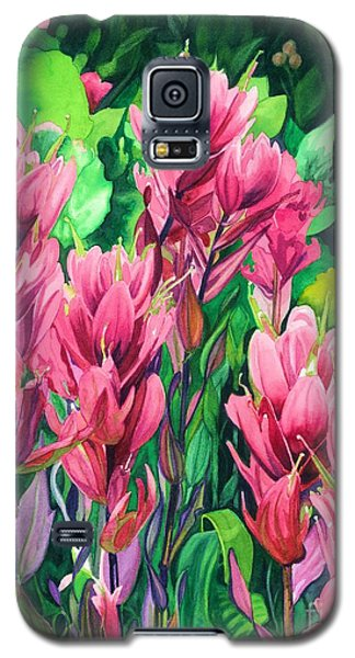Mountain Meadows' Paintbrush Galaxy S5 Case
