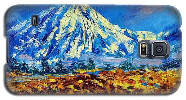 Mountain Painting Fine Art By Ekaterina Chernova Galaxy S5 Case
