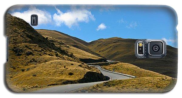 Mountain Pass Road Galaxy S5 Case
