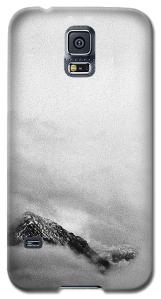 Mountain Peak In Clouds Galaxy S5 Case by Peter v Quenter