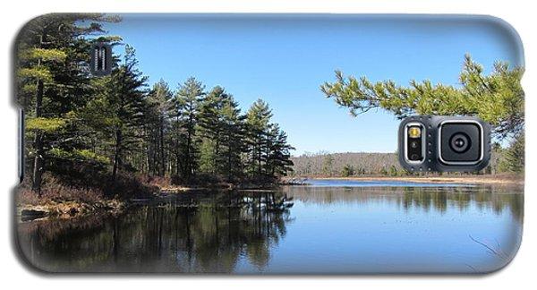 Mountain Pond - Pocono Mountains Galaxy S5 Case by Susan Carella