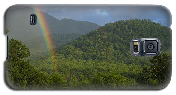 Mountain Rainbow 2 Galaxy S5 Case