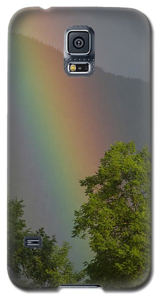 Mountain Rainbow Galaxy S5 Case