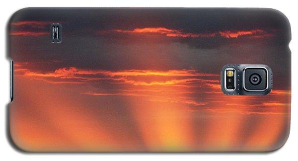 Mountain Rays Galaxy S5 Case