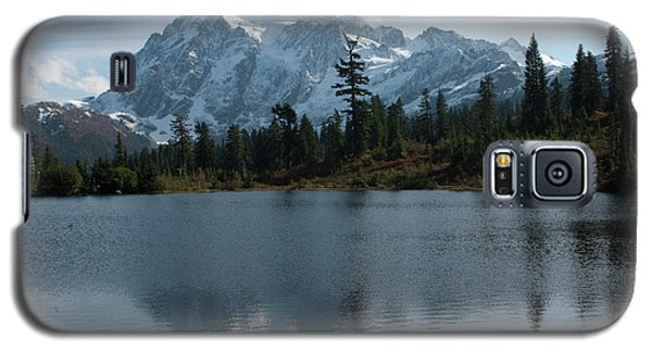 Galaxy S5 Case featuring the photograph Mountain Reflection by Rod Wiens