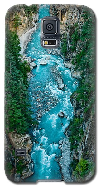 Mountain River Ganga In Valley Himalayas India Galaxy S5 Case