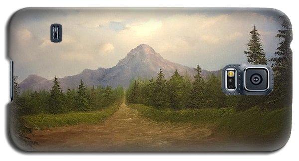 Mountain Run Road  Galaxy S5 Case