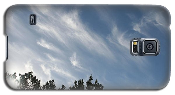 Galaxy S5 Case featuring the photograph Mountain Sky by David S Reynolds