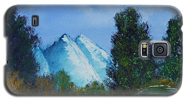 Galaxy S5 Case featuring the painting Mountain Stream by Jennifer Muller