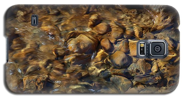 Galaxy S5 Case featuring the digital art Mountain Stream by Kelvin Booker